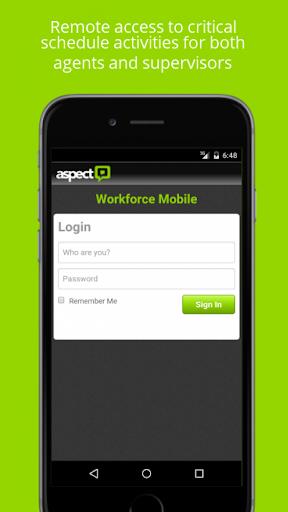 Aspect WFM Mobile - Enterprise