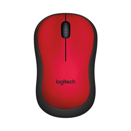 Chuột máy tính Logitech M221 không dây (Đỏ)-1