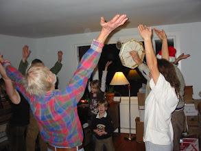 Photo: Winter solstice dance.