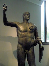 Photo: Bronze statue of the emperor Trebonianus Gallus. Imperial, A.D. 251–253.  http://www.metmuseum.org/Collections/search-the-collections/130007591