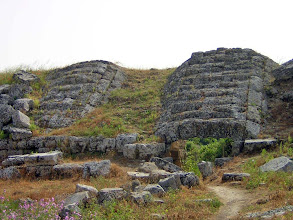 Photo: Perge Stadium, with access vaults incoporated in the seats