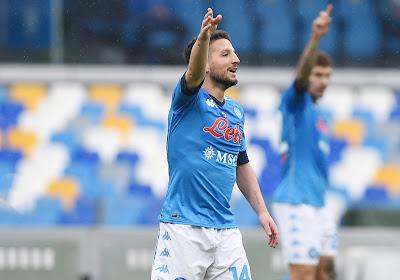 Dries Mertens wint met Napoli en springt over Juventus