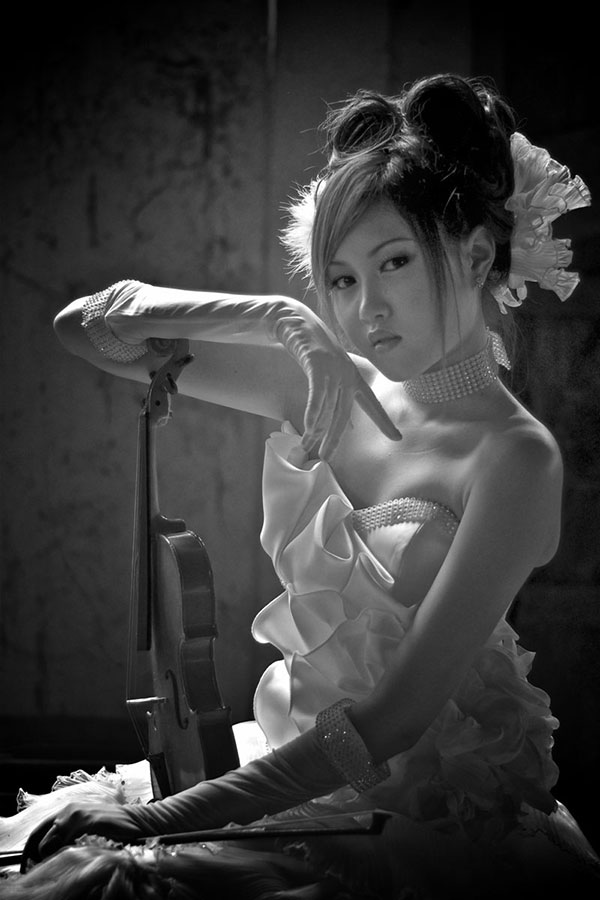 the violist by Tonny S - People Portraits of Women