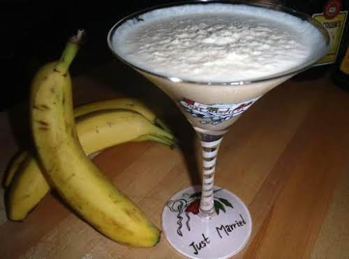 """Dirty Banana Cocktail """"Sweet, smooth, creamy and delicious! Be careful... you'll want..."""