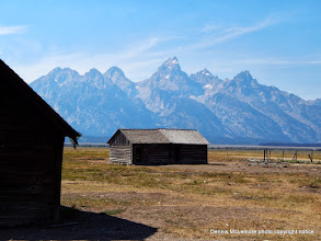 Photo: Mormon Row area of Tetons