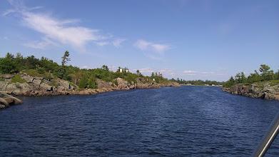 Photo: Entering Bying Inlet