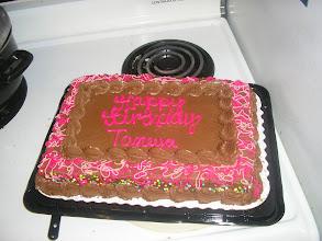 Photo: My birthday cake!