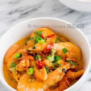Prawn and Tomato Curry.