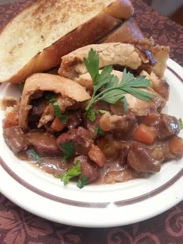 Beef & Mushroom Pot Pie