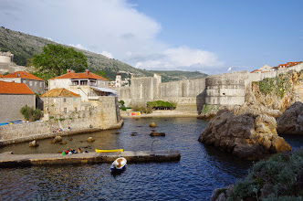 Photo: Fort Lovrijenac - The City Walls