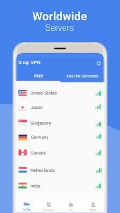 Snap VPN – Unlimited Free & Super Fast VPN Proxy 2