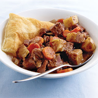 Slow-Cooker Steak and Guinness Pie.