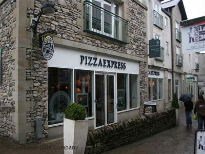 Pizzaexpress On Stricklandgate Restaurant Italian In