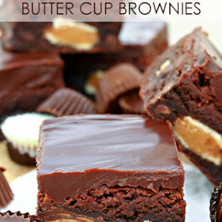 Ultimate Peanut Butter Cup Brownies