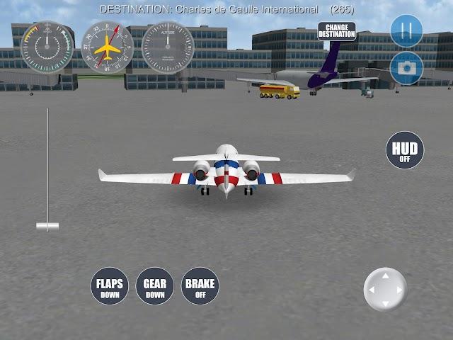 android Airplane Paris Screenshot 7