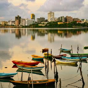 Recife by Claudio Maranhao - City,  Street & Park  Vistas ( brazil, riocapibaribe, recife,  )