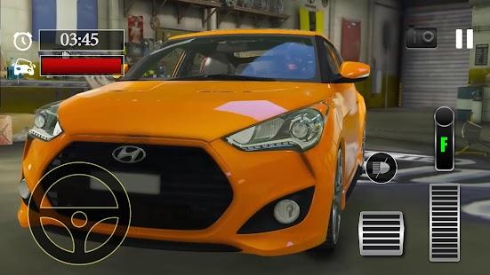 Car Parking Hyundai Veloster Simulator - náhled