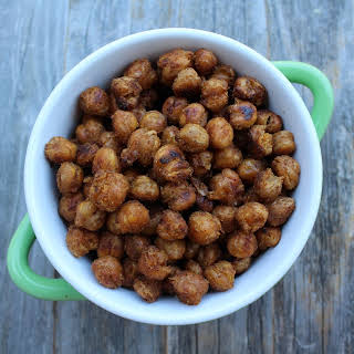 Clean Eating Roasted Chickpeas.