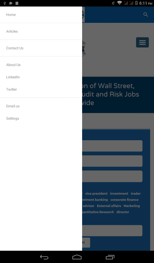 The Wall Street Executive- screenshot