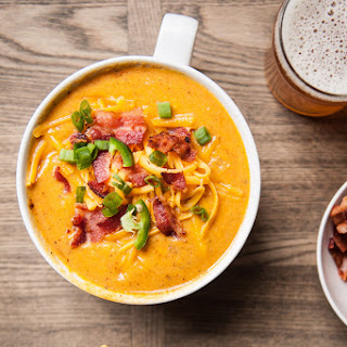 Loaded Beer and Bacon Corn Chowder