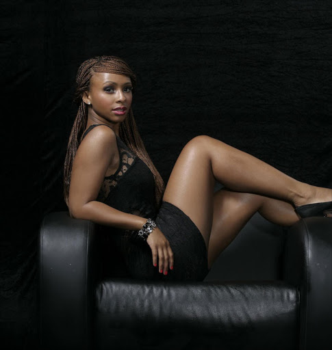 Boity Thulo, posing for a SowetanLIVE Mzansi's Sexiest photoshoot in 2012. Photographer: Gareth Jacobs Photography.