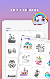 App PixelArt: Color by Number, Sandbox Coloring Book APK for Windows Phone