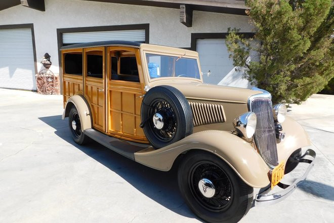 Ford 1934 Woodie Hire CA