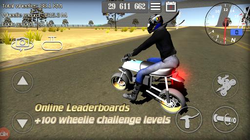 Wheelie King 3D - Realistic free  motorbike racing modavailable screenshots 3