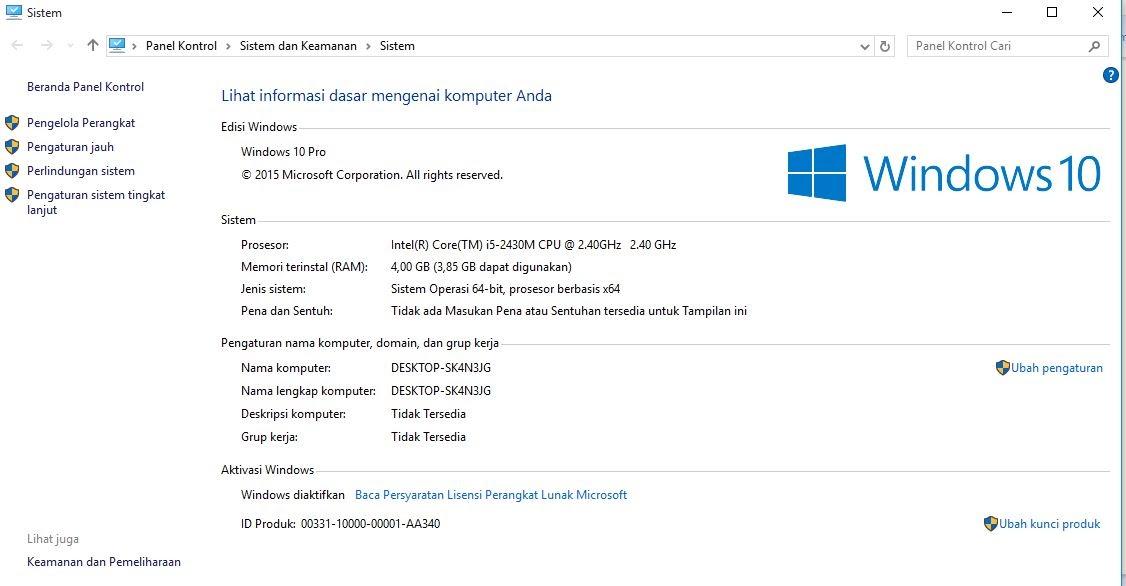 Menginstall Windows 10 1