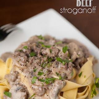 Classic Beef Stroganoff