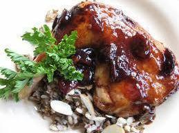 Burgundy Chicken And Cherries Recipe
