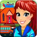 Pretend Play Preschool Learning: Town School Fun icon