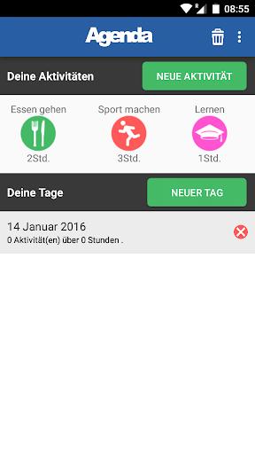 Agenda kostenlos Deutsch