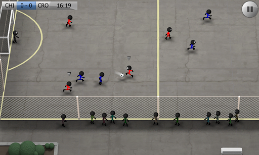 Stickman Soccer - Classic screenshot 2