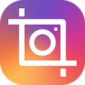 Insta square snap pic collage icon