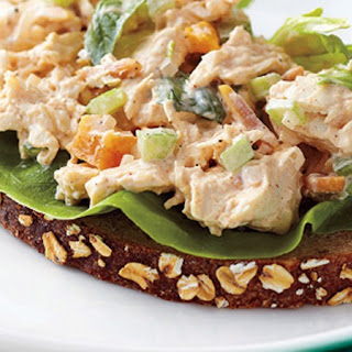 Apricot-Basil Chicken Salad