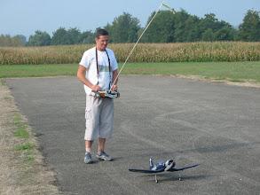Photo: 09/2005, Patrick S. et son Corsair.