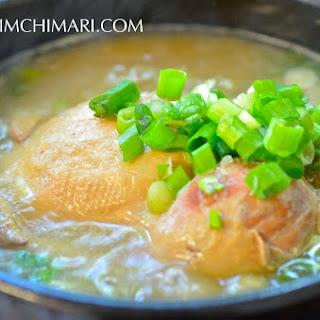 Samgyetang (삼계탕) - Korean Ginseng Chicken Soup Recipe