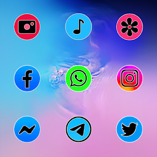 Download PIXEL ONE UI FLUO - ICON PACK For PC Windows and Mac apk screenshot 5