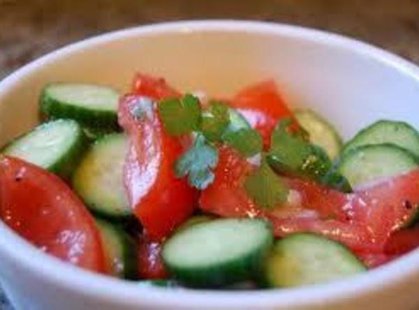 Cucumber And Tomato Salad Recipe