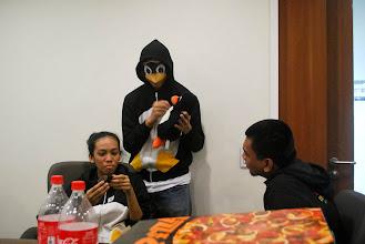 Photo: Tux mascot