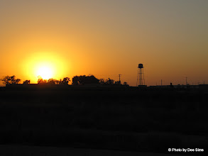 Photo: Day 154  - Sunset As We Came into Sarakhs