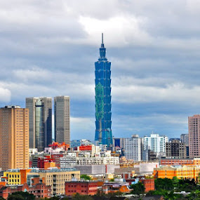 Taipei 101: by Vinay Tyagi - Buildings & Architecture Public & Historical