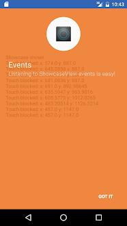 ShowcaseView sample Gratis