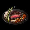 イーロの山盛りステーキ