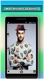 Men Stylish Caps Editor APK screenshot thumbnail 2