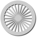 Chakra clock icon