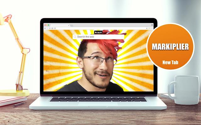 Markiplier Videos New Tab Theme