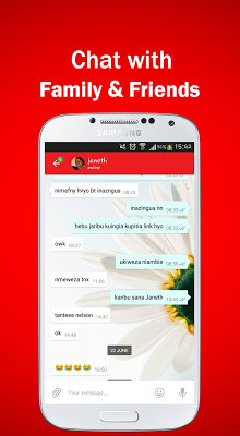 PoaApp Messenger - screenshot