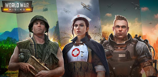 Wage war and create chaos across the centuries in World War Rising!